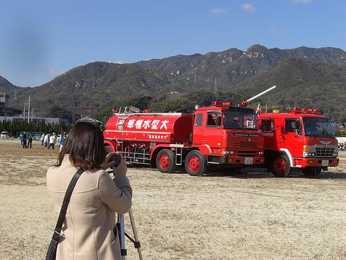 消防出初式の取材に行ってきました