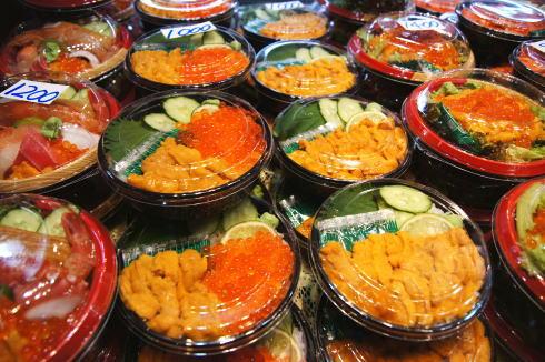 下関 唐戸市場の海鮮丼